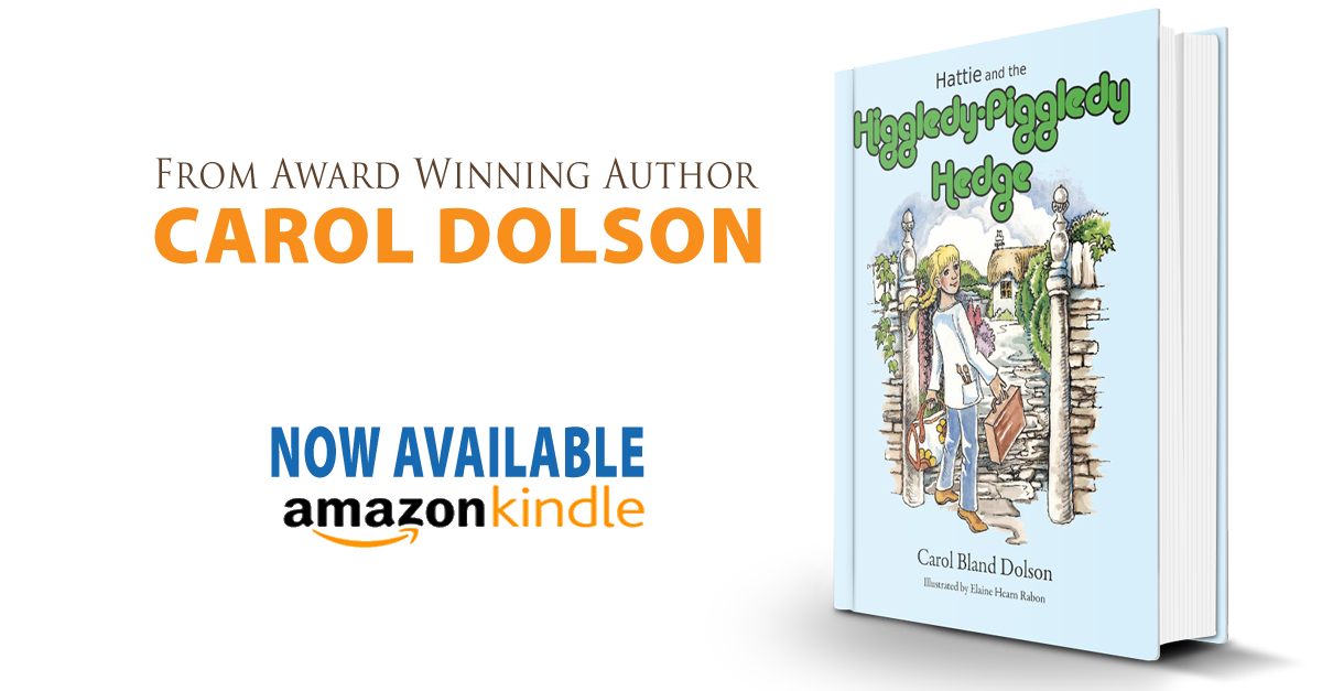 Hattie and the Higgledy Piggledy Hedge now available on Kindle