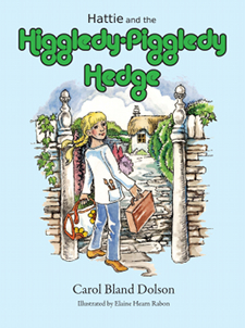 Cover of Hattie and the Higgledy-Piggledy Hedge.